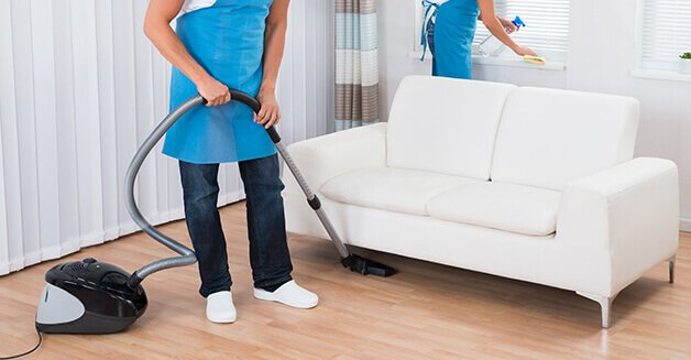Apartment studio cleaning service in dubai