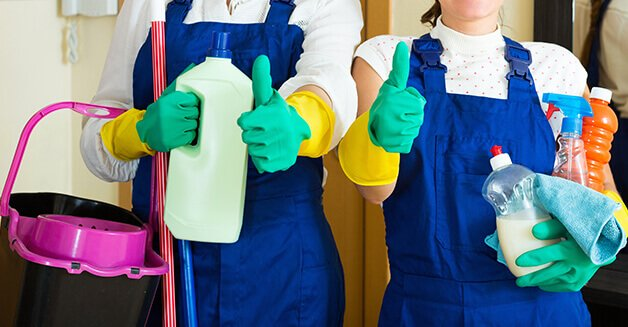 Maids Services Cleaning in Dubai
