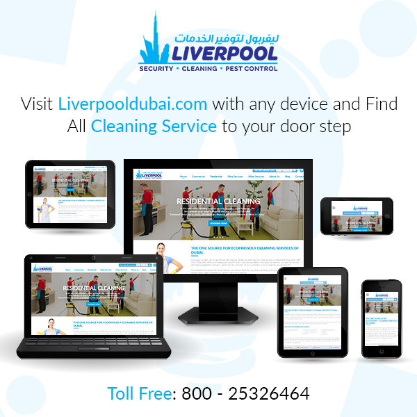 Liverpool Cleaning Company in Dubai | Cleaning Services