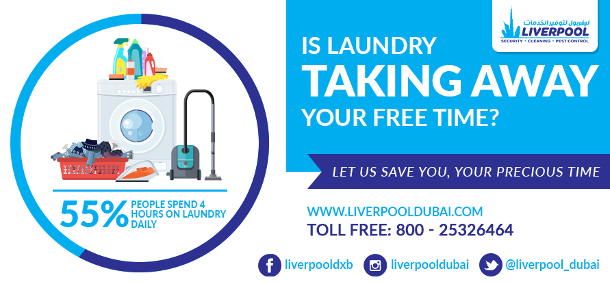 Laundry Services in Dubai