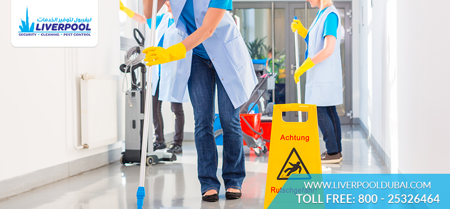 Business and Commercial cleaning services in Dubai