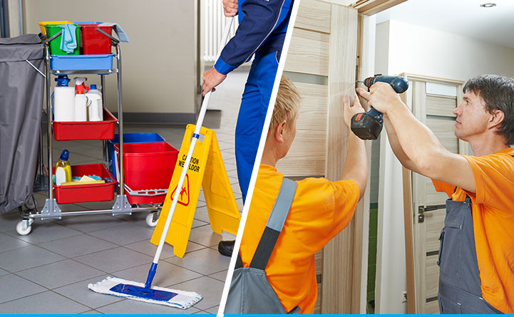 Carpentry and Cleaning Services