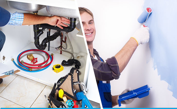 Plumbing & Sanitary and Wall Painting Services