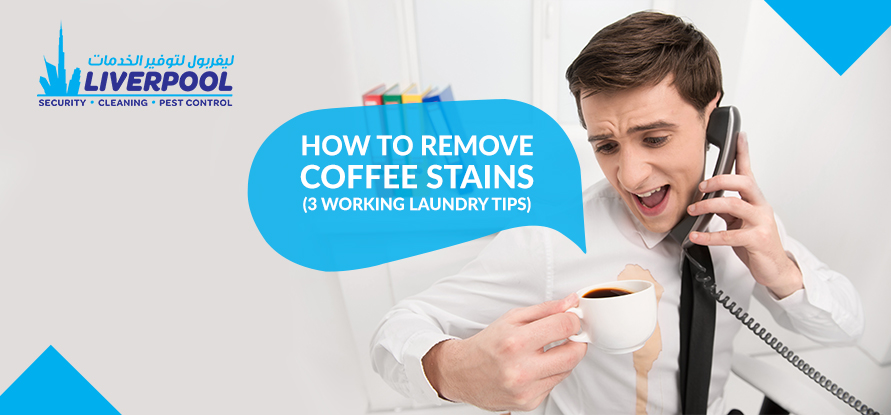 How to remove coffee stains 3 working laundry tips for How to remove coffee stain from white shirt