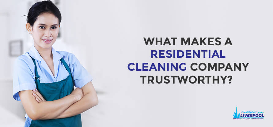Residential Cleaning Company in Dubai