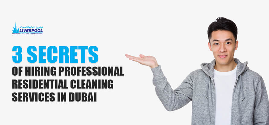hiring cleaning services in Dubai