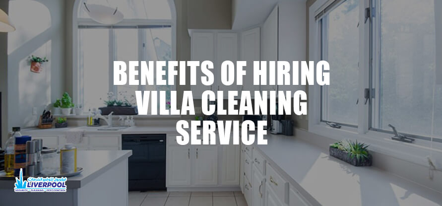 villa cleaning service